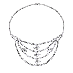 Aerial Diamond Necklace