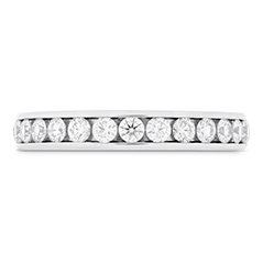 HOF Channel Diamond Eternity Band 2.5