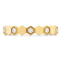 HOF Hex Eternity Band