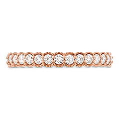 Isabelle Milgrain Diamond Band