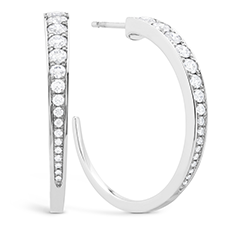 Triplicity Hoop Earrings