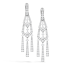 Triplicity Pointed Drop Earrings