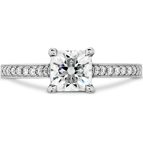 Illustrious Dream Engagment Ring Diamond Intensive Band