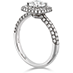 Euphoria Pave Engagement Ring view 2