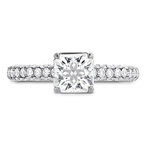 Euphoria Dream Engagement Ring - Diamond Band