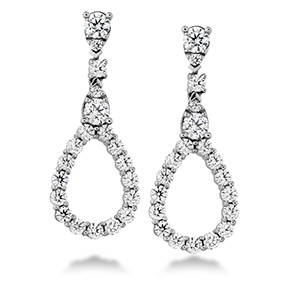 Aerial Diamond Drop Earrings