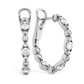 HOF Bezel Regal Hoops
