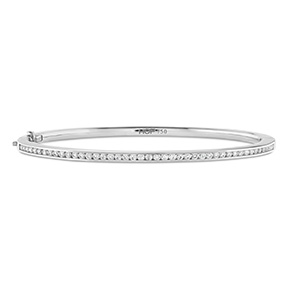 HOF Classic Channel Set Bangle - 160