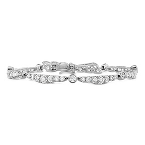Lorelei Ribbon Diamond Bracelet