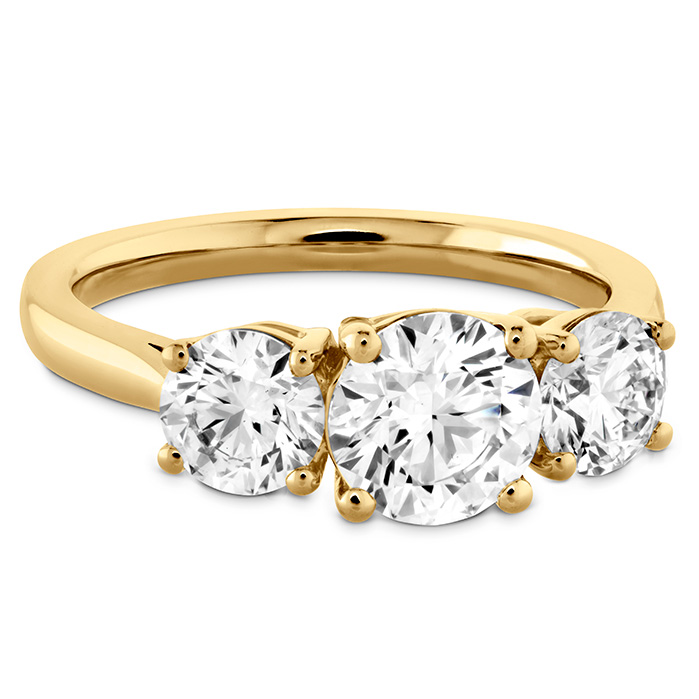 Simply Bridal Three Stone Semi-Mount